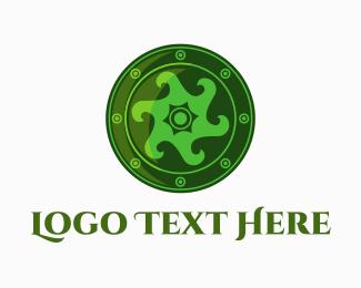 Celtic - Irish Shield logo design