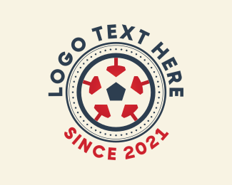 League - Soccer League Tournament logo design