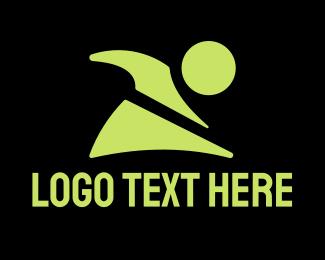 Gymnastics - Fitness Character logo design