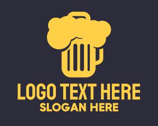 Hangover - Beer Mug logo design