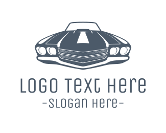 Sports Car - Muscle Car logo design
