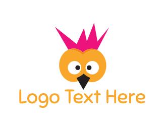 Punk - Punk Bird logo design