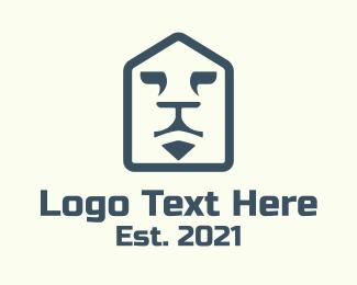Real Estate - Lion Housing Property logo design