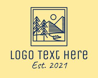 Photograph - Outdoor Landscape Photograph logo design