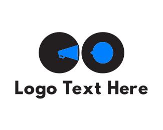 Megaphone - C & O logo design
