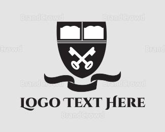 Key - Key Emblem logo design
