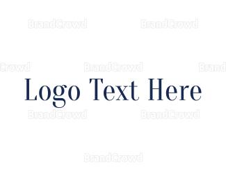 Conservative - Classic & Blue  logo design