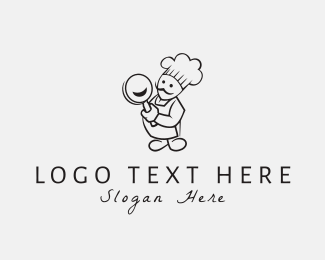 Chef - Happy Chef logo design