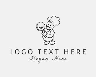 France - Happy Chef logo design