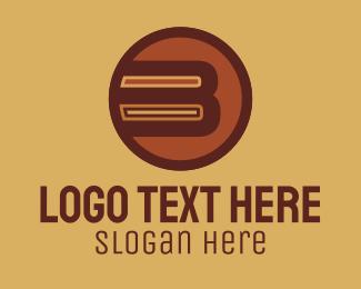 Camper - Retro Vintage Letter B logo design