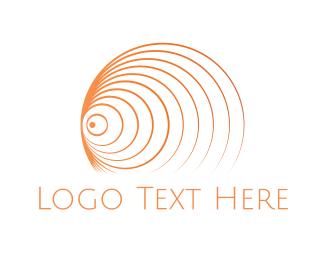 Tornado - Orange Tornado logo design