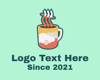 Latte - Cloud Mug logo design