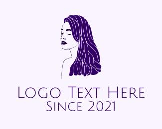 Sister - Violet Beauty Salon logo design