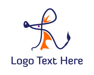 Rat - Rat Letter R logo design