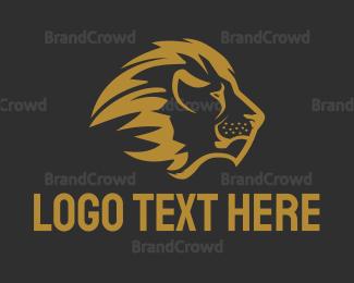 Fortune - Bronze Lion logo design