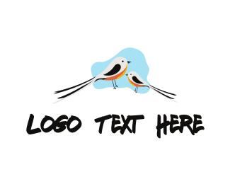 Mom - Little Birds logo design