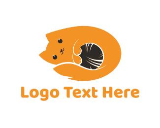 Furry - Cute Kitten logo design