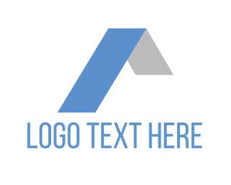 Roofing - Blue Roof logo design