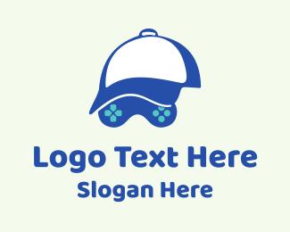Twitch - Gamer Cap Controller  logo design