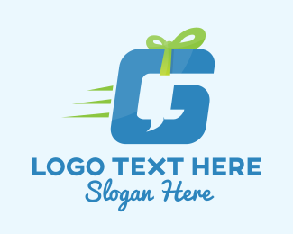 Hamper - Delivery Gift Box logo design