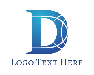 Global Outline D Logo