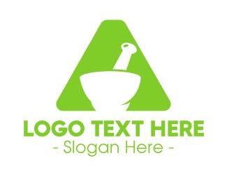 Apothecary - Apothecary Pharma Letter A logo design