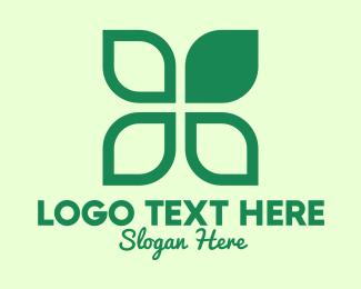 Leaves - Green Eco Leaves logo design