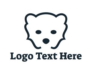 Polar Bear - Bear Code logo design