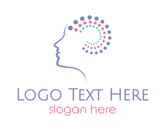 Mind - Brain Wellness logo design