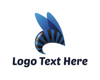 Blue Wasp Logo