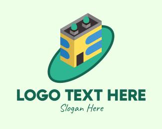 Design - Geometric Building Design logo design