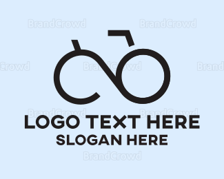 Shades - Abstract Bicycle Specs logo design