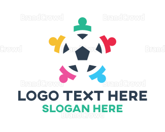 Mvp - Abstract Soccer Team logo design