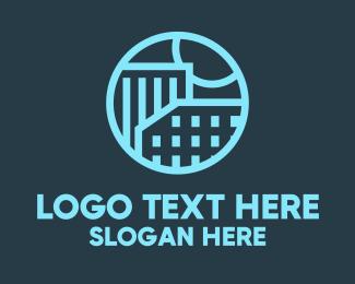 Condominium - Luxurious Real Estate logo design
