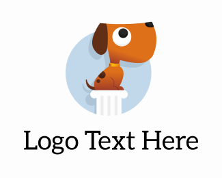 School - Top Dog Training logo design