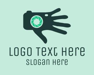 Hand - Camera Hand logo design