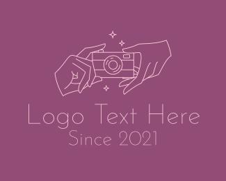 Social Media - Youtube Beauty Vlogger logo design