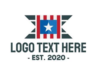 Washington - Country Flag  logo design