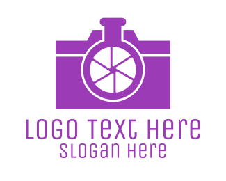 Photograph - Abstract Camera Lab logo design