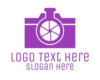 Cameraman - Abstract Camera Lab logo design