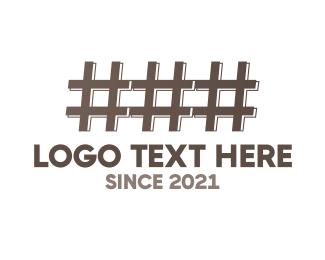 Slack - Hash Fence logo design