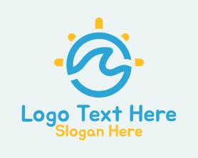 Holiday - Ocean Sun Holiday logo design