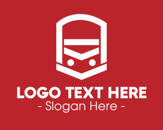 Rail - Transportation Vehicle logo design