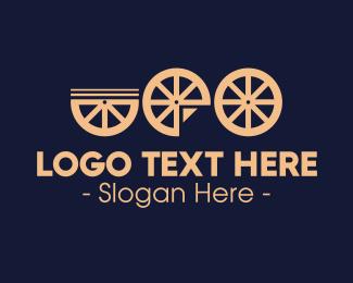 Wheel - Bicycle Wheels logo design