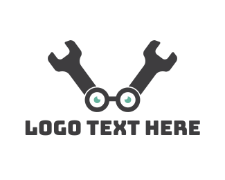 Geek - Wrench Geek logo design