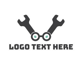 Geek - Wrench Geek logo design
