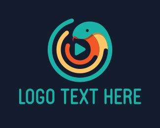 Cobra - Snake Media logo design