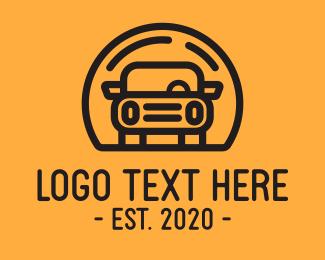 Car Repair - Car Transportation logo design