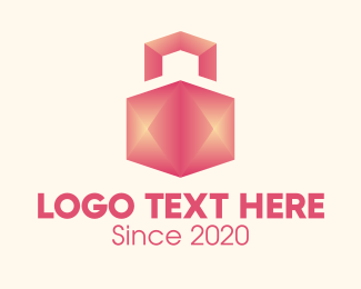 Package - 3D Home Package Delivery logo design