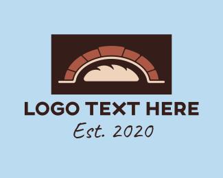 Baked - Baking Oven logo design